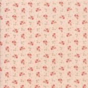 Moda - Porcelain - 3 Sisters - 6341 - Briar Rose Floral on Pink - 44197 15 - Cotton Fabric
